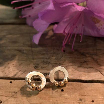 STRANDSTEN | Ørestikkere med guldsten