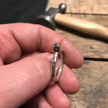 FJORDGLIMT | Rådiamant ring
