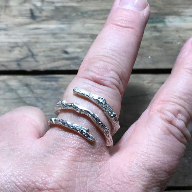 GRENEN   Viklet ring